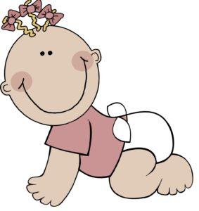 papapishu_baby_girl_crawling
